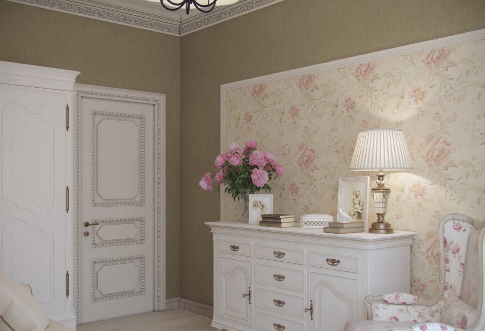 Уютная комната в заданном стиле