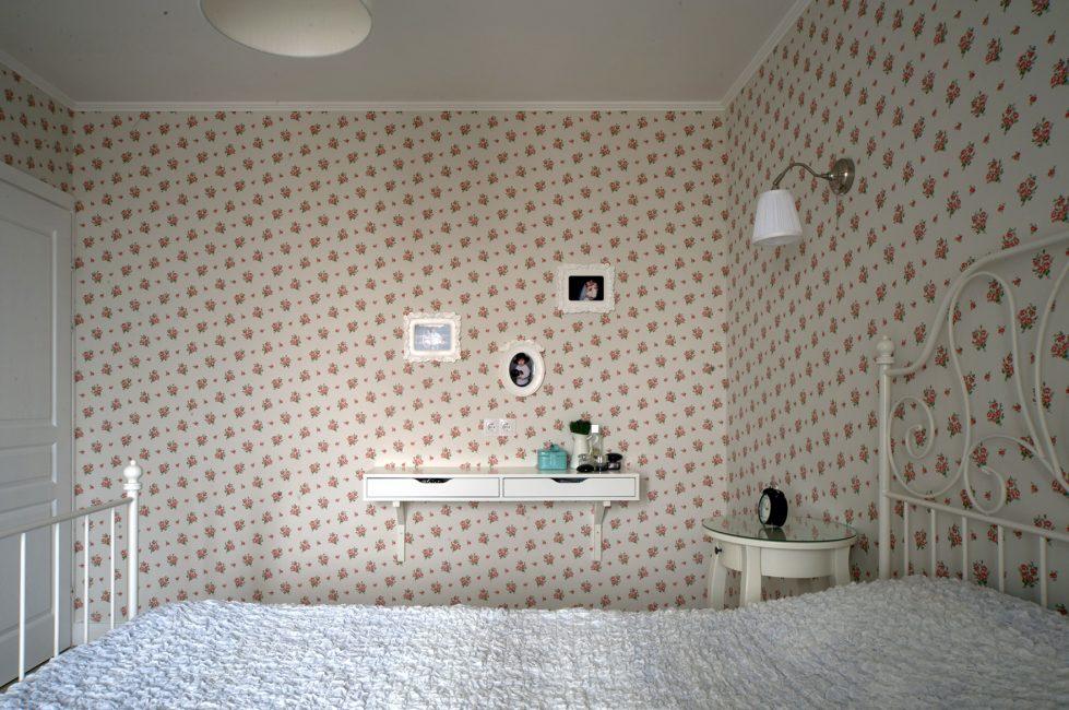 В интерьере спальни