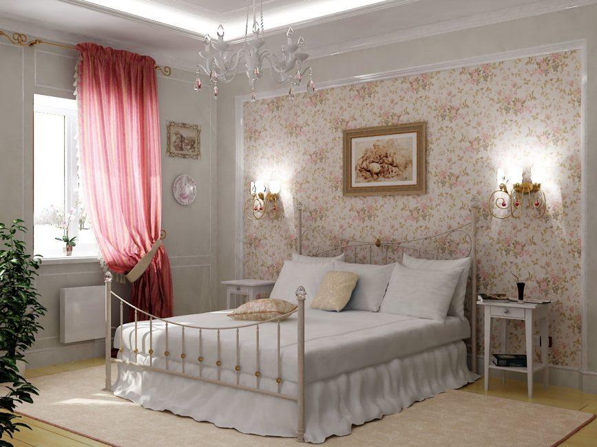Спальня стиль прованс фото интерьер своими руками 650
