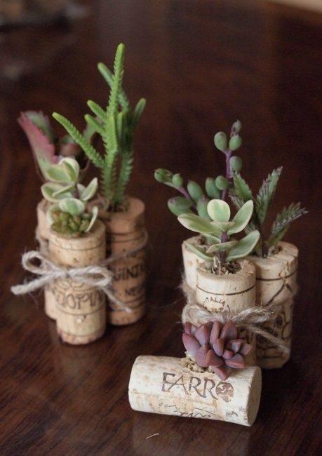 Маленькие горшки для растений