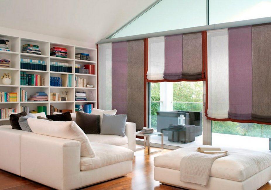 Элегантное и практичное декорирование окна