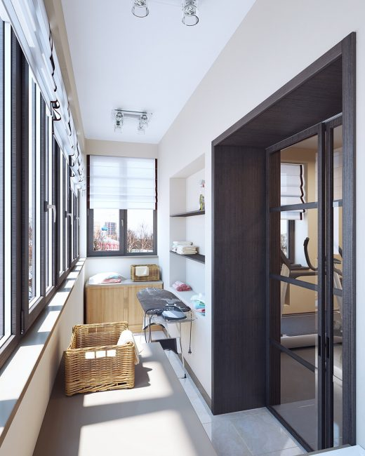 Встроенная мебель трудно поддается трансформации и перемещению