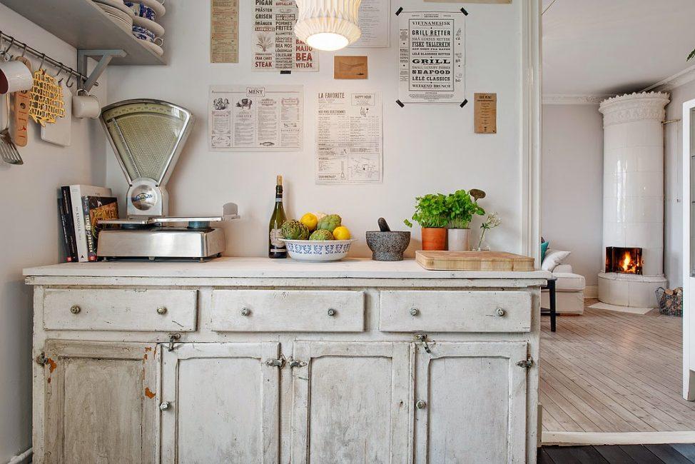 Небольшое помещение для готовки