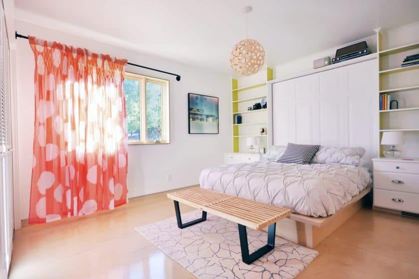 Шторы на двери - Как поселить гармонию в доме? 215+ Фото Красивых и Современных идей