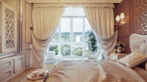 Современный дизайн штор для спальни - Значимые детали, о которых стоит знать каждому