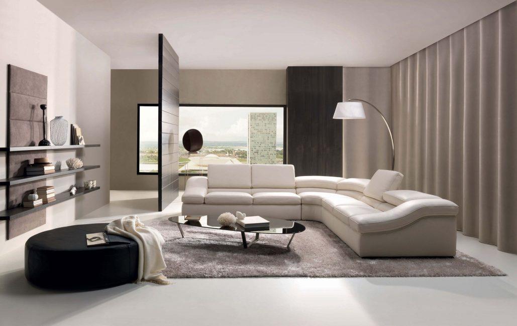 Нестандартная с необычными формами мебель