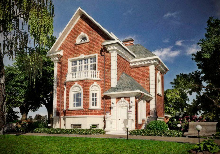 Дома, построенные из кирпича или камня, могут оставить без отделки