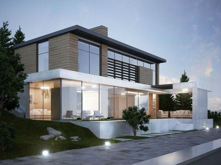 Стены достаточно прочные, построены из бетона и метала