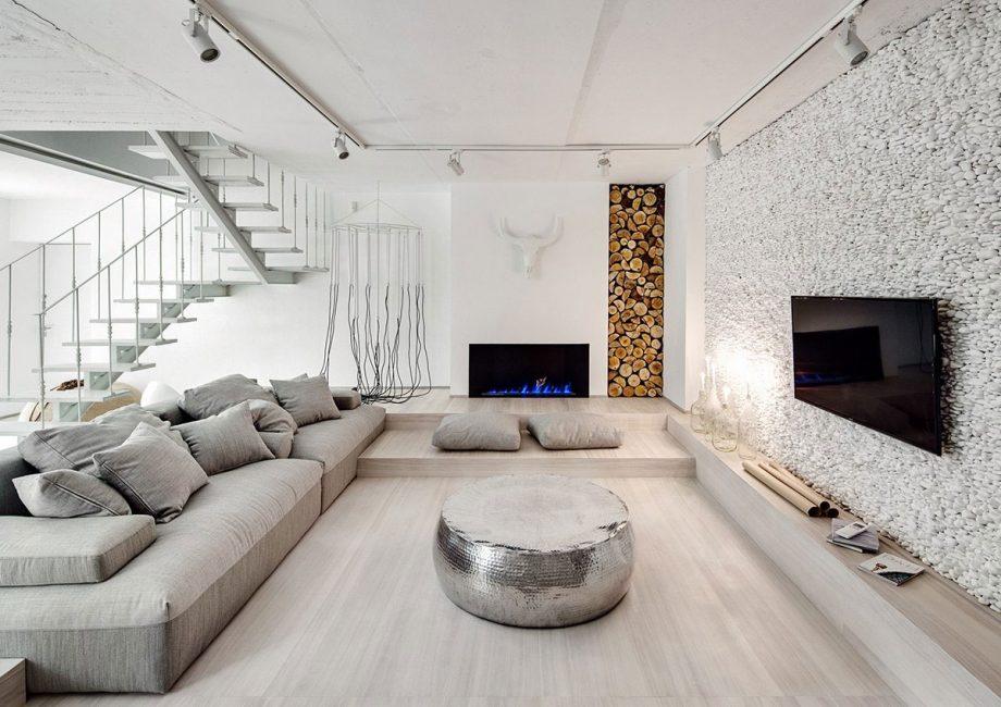 Креативный, стильный и уютный дизайн комнаты