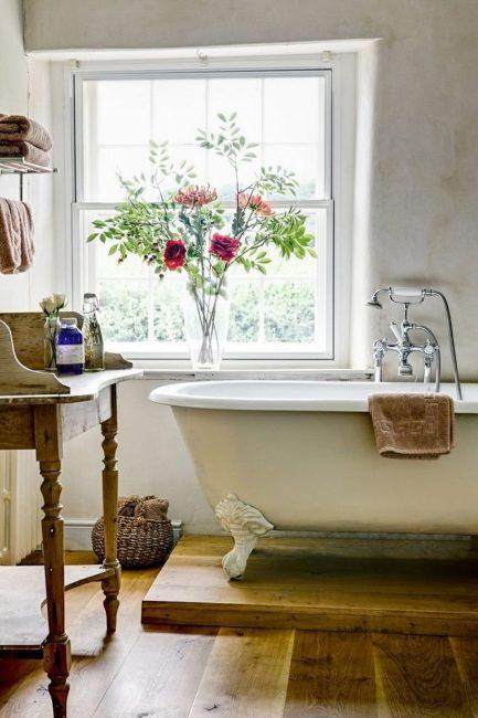 Ванная в стиле Прованс – любовь с первого взгляда
