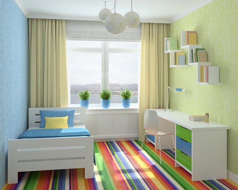 Дизайн детской комнаты зависит от возраста ребенка