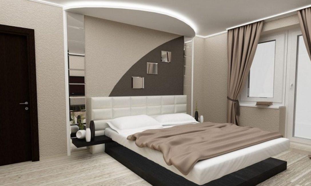 Для больших комнат лучше брать светлые тона