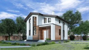 Фасадные панели для загородного дома - Как выбрать? 230+ (Фото) Отделки снаружи (под камень, под кирпич, из дерева)