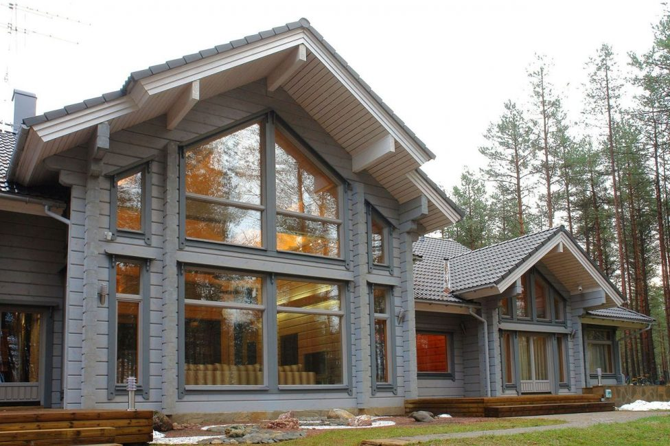 Стильный, загородный дом