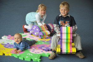 Коврики-пазлы для детей - Мягкий пол: развиваемся с комфортом (145+ Фото)