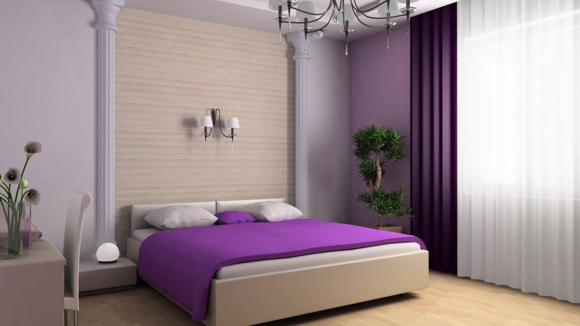 Модный вид стеновой отделки - это окрашивание, преображающее интерьер