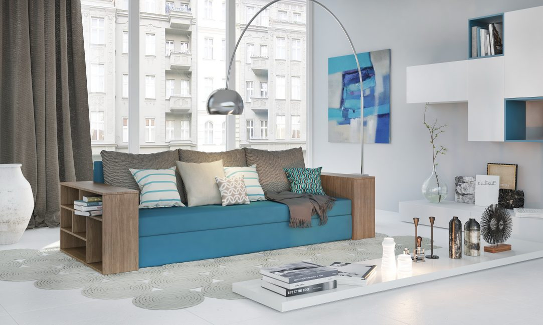 Для гостиной требуется стильная мебель, с учетом обстановки комнаты