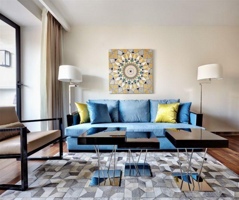 Хлопок – натуральный и экологически чистый вид оформления мягкой мебели