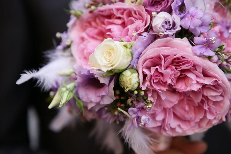 Нежный, свадебный букет