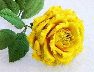 Розы из Фоамирана - Большие и маленькие: 150+ (Фото) с пошаговой инструкцией. 7 детальных Мастер-класса для начинающих
