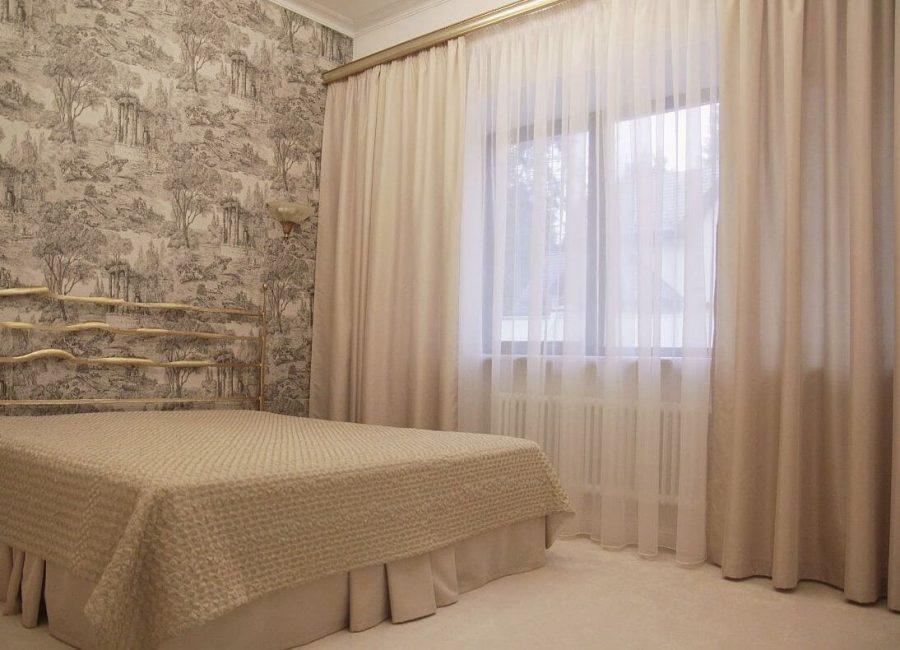 Минимальное количество мебели в спальне
