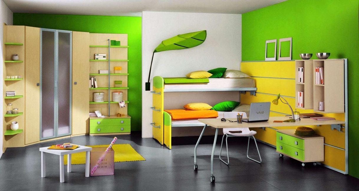 Главное, чтобы шкаф вписывался в общий стиль комнаты