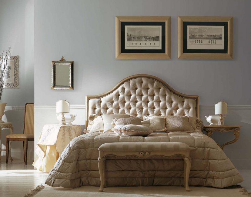 Такая кровать будет удобной для чтения книг