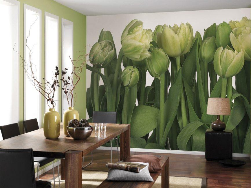 Тюльпаны создают положительную энергетику