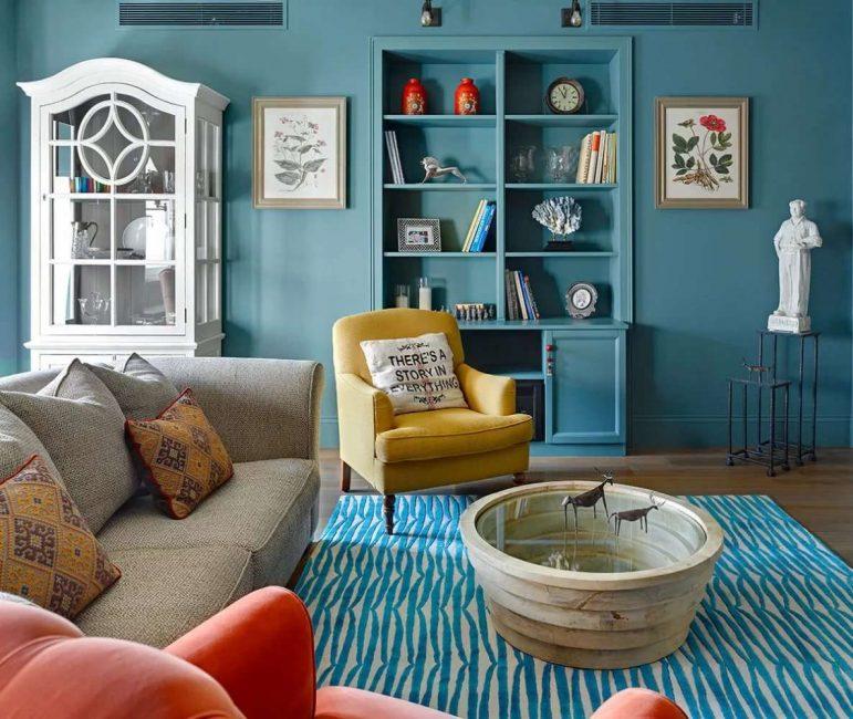 Альтернативное сочетание с ковром