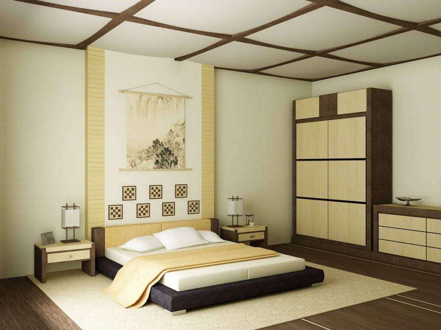 Немного Японии для спальни