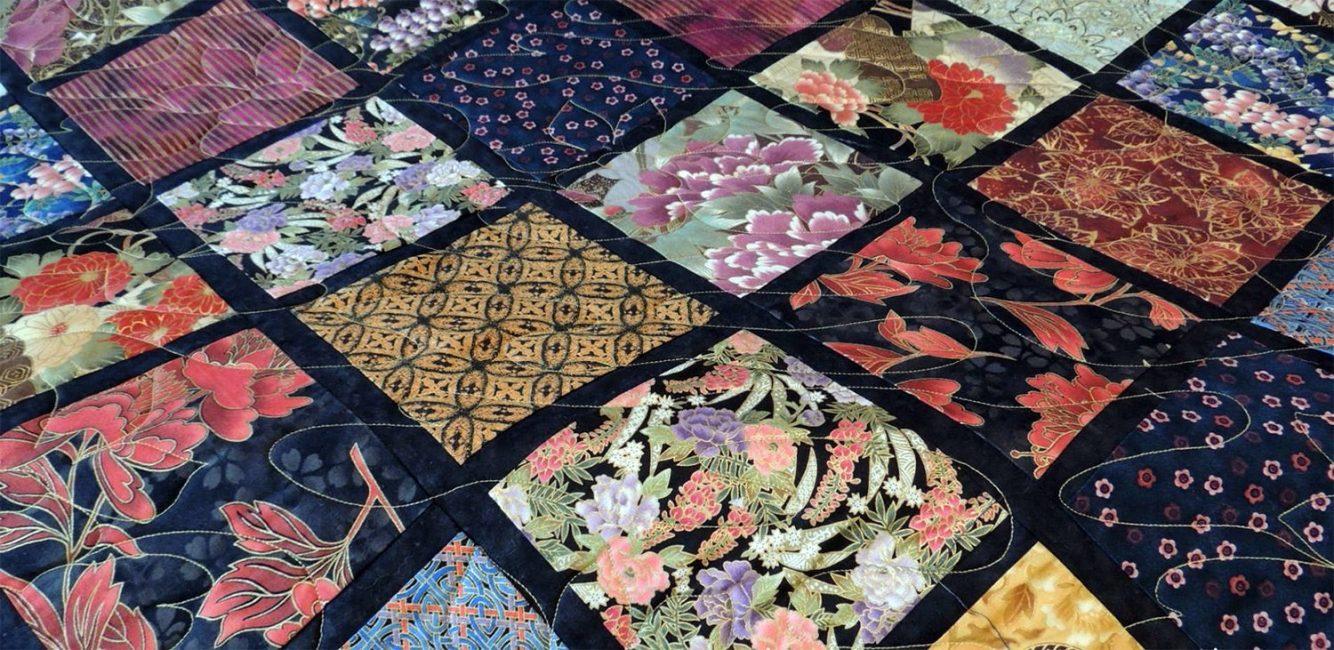 Японский текстиль очень богат и красив