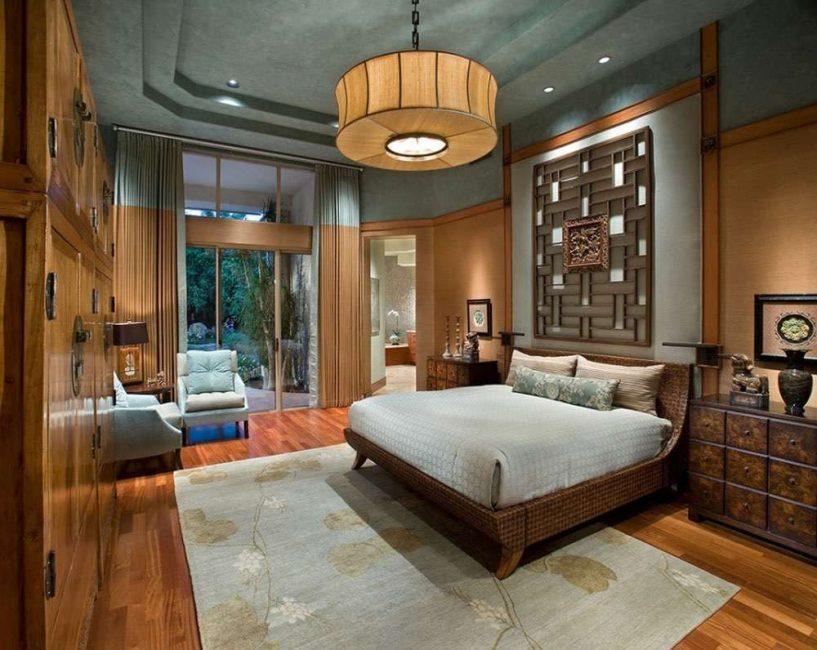 Спальня - гармонично соединяем элементы