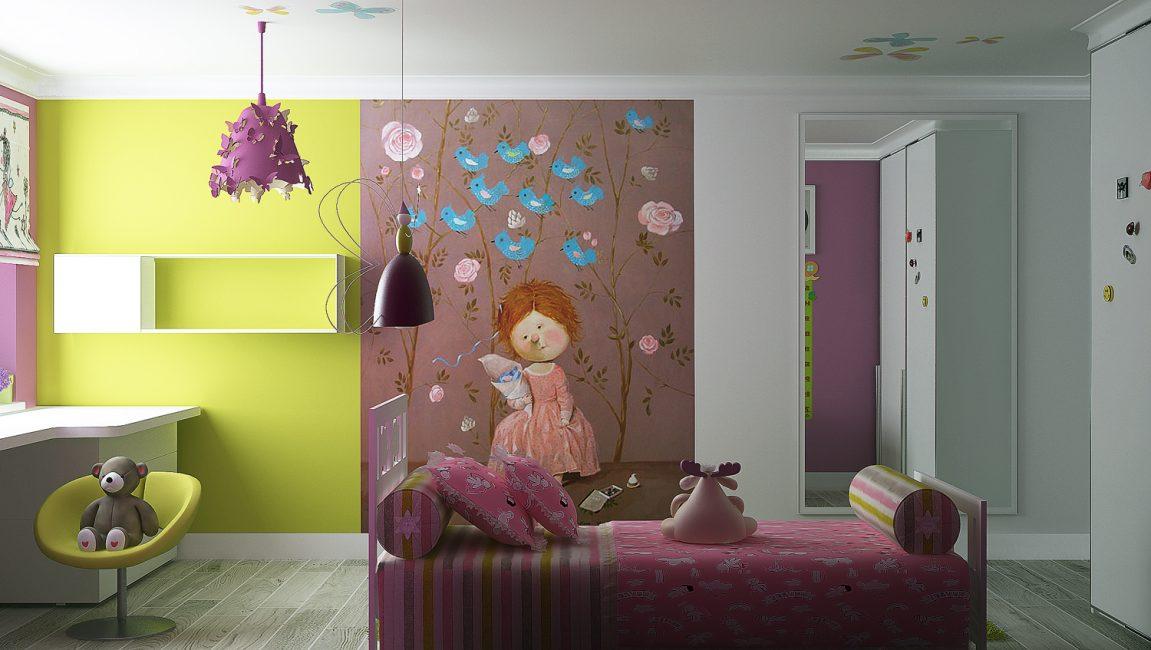 Яркая комната для детей