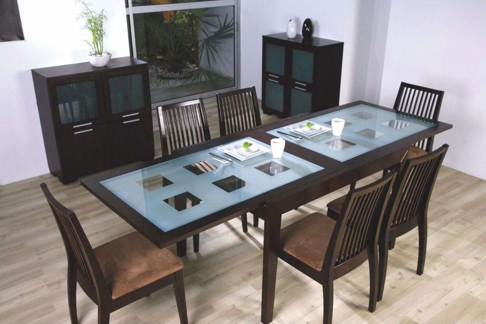 Размер стола имеет большое значение при выборе