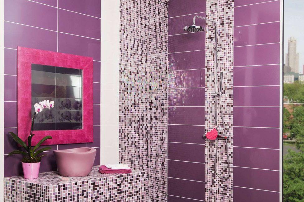 Обогатите ванную комнату живыми цветами