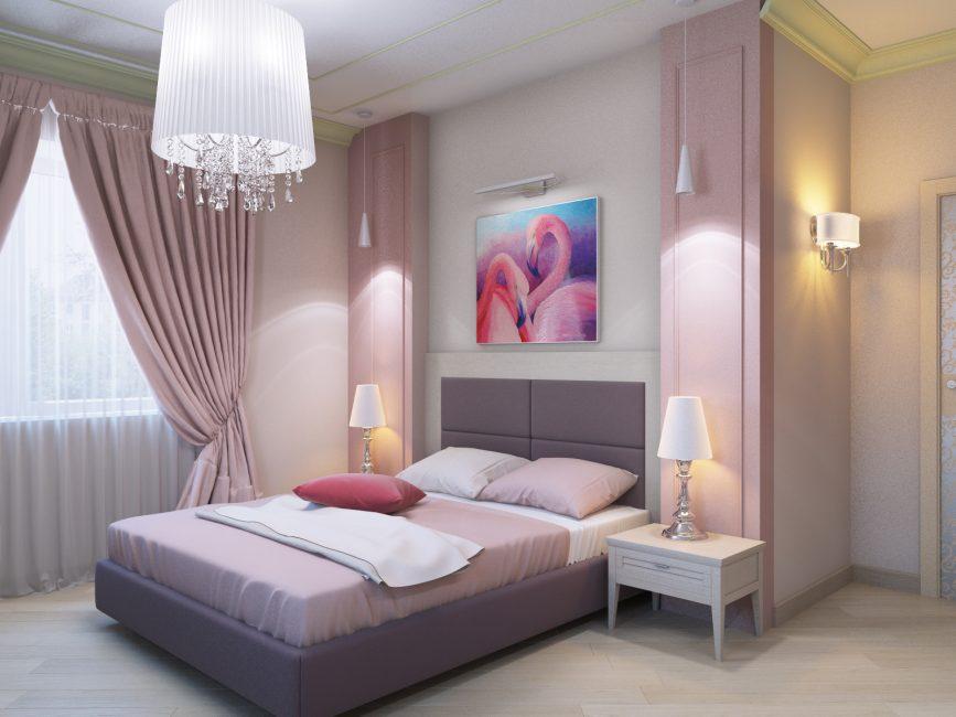 Женственная и романтическая комната