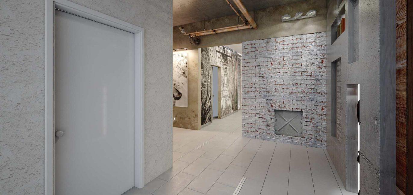 Комната, которая напоминает больше подсобное помещение