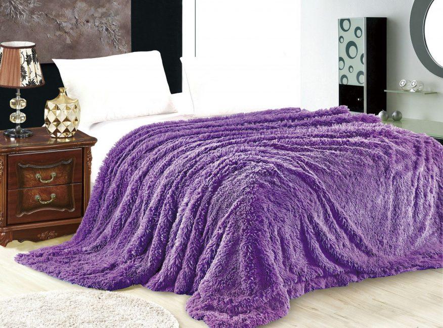 Фиолетовый в деталях