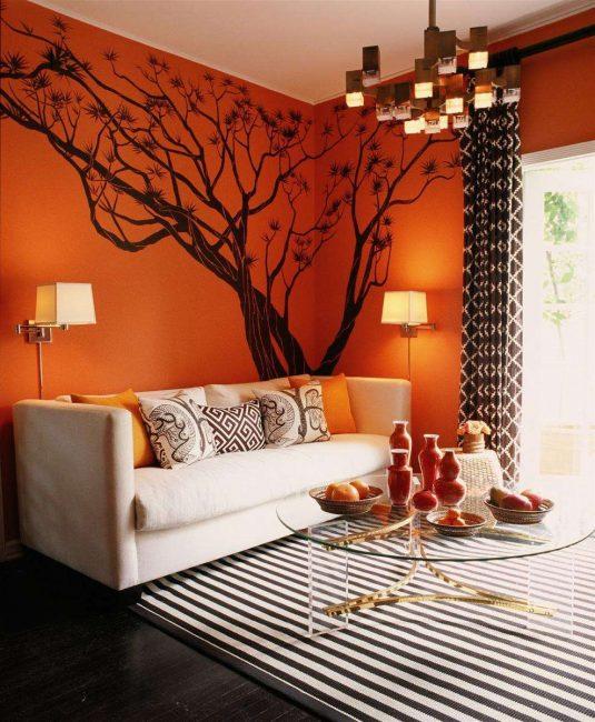 Оранжевый - это основной цвет терракоты
