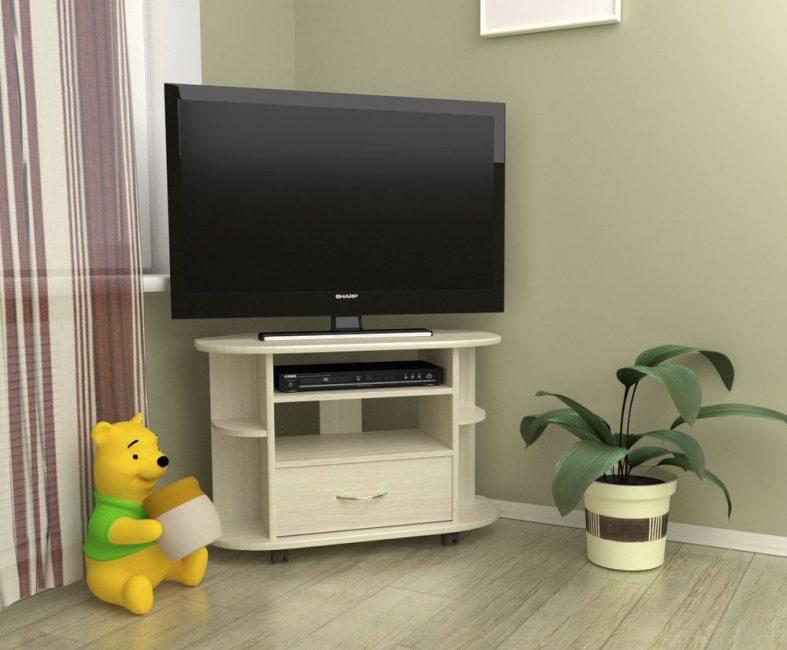 Светлая мебель не украдет свободное пространство