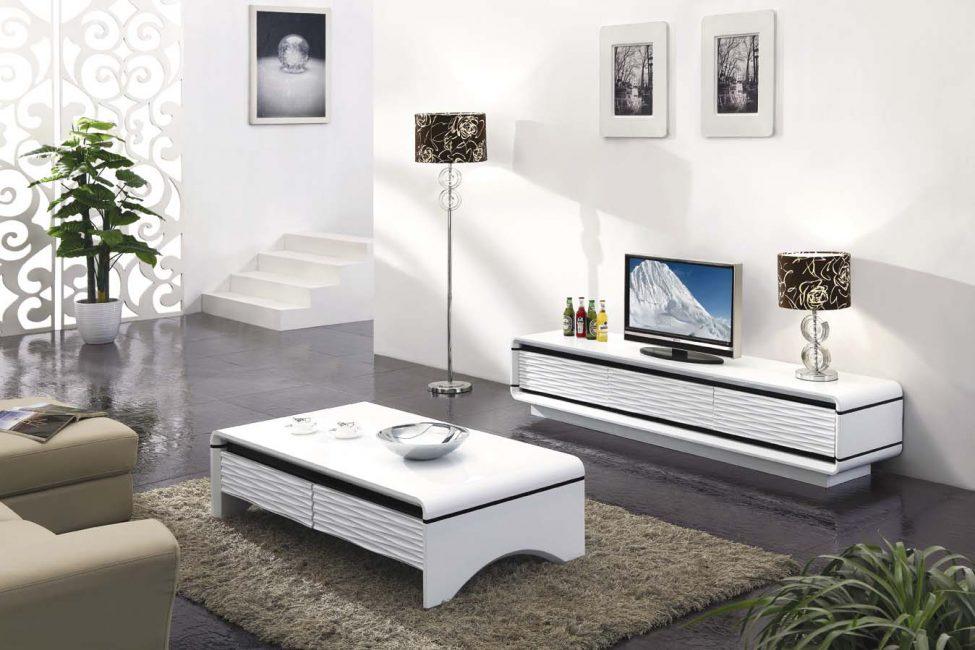 Белая мебель способствует отдыху