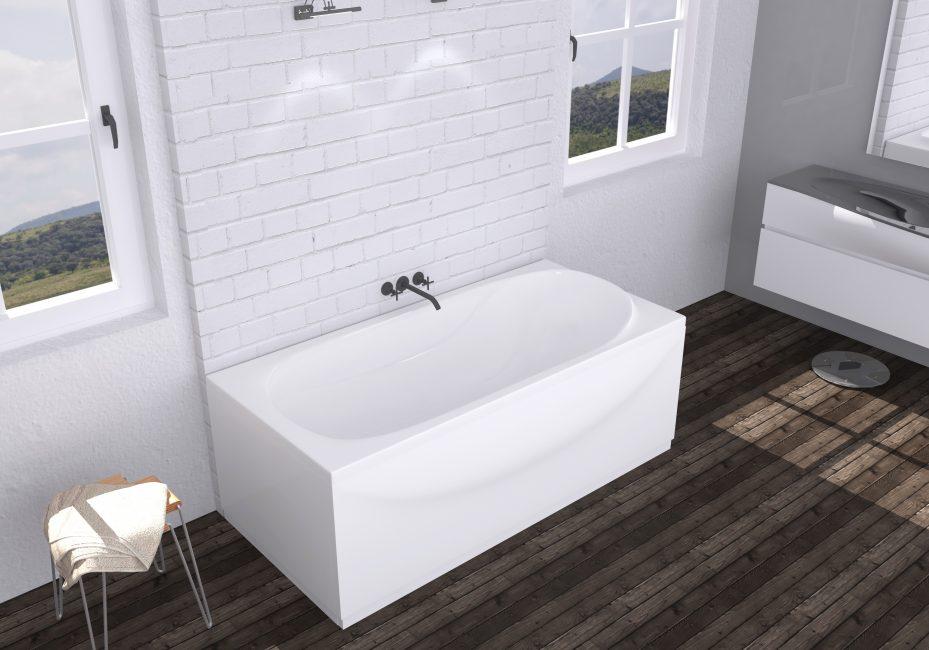 Стиль хай-тек в интерьере ванной