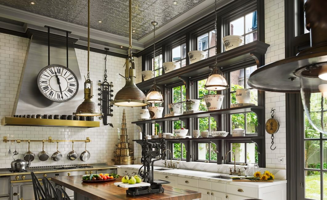 Оригинальные изделия позволяют подчеркнуть стиль кухонной обстановки
