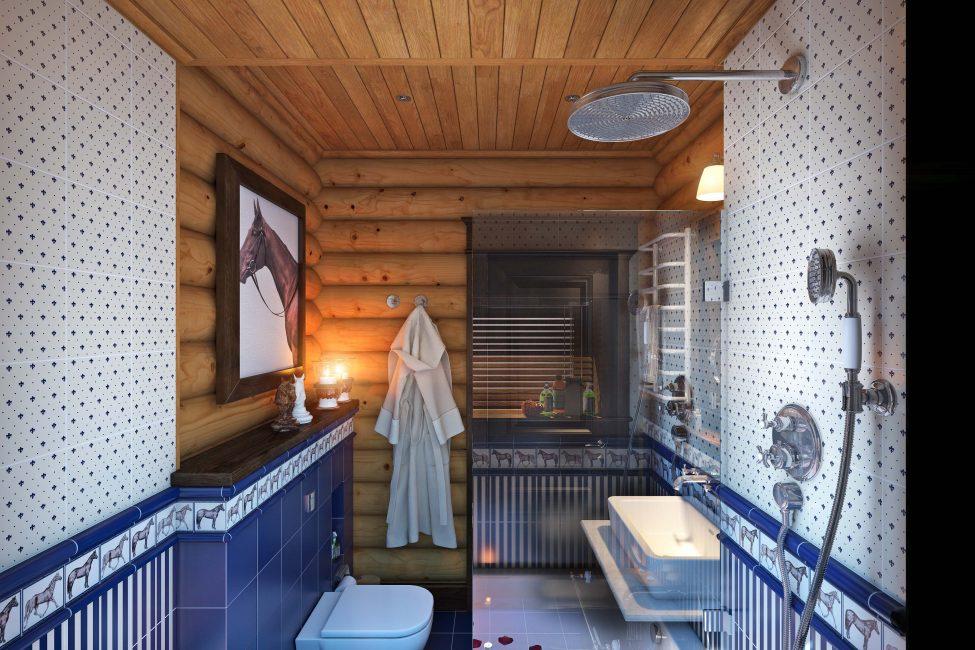 Выбор мебели и сантехники подводит к завершению оформления ванной комнаты