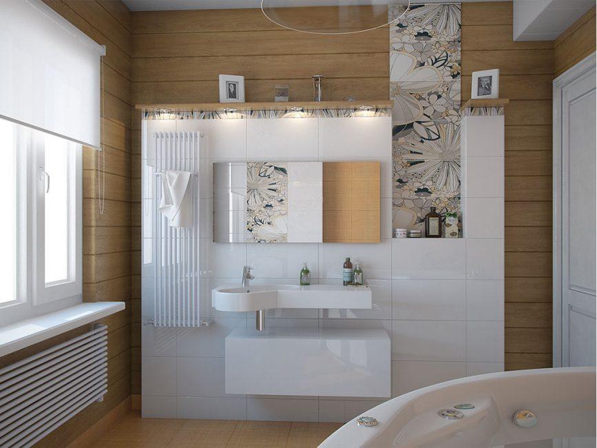 Небольшая комната в современном дизайне