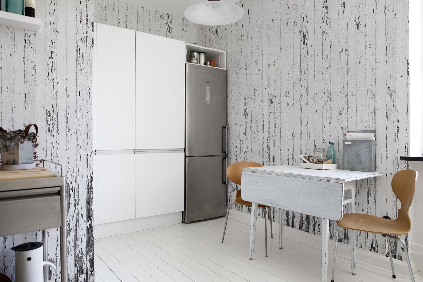кухонные обои фото для стен очень много