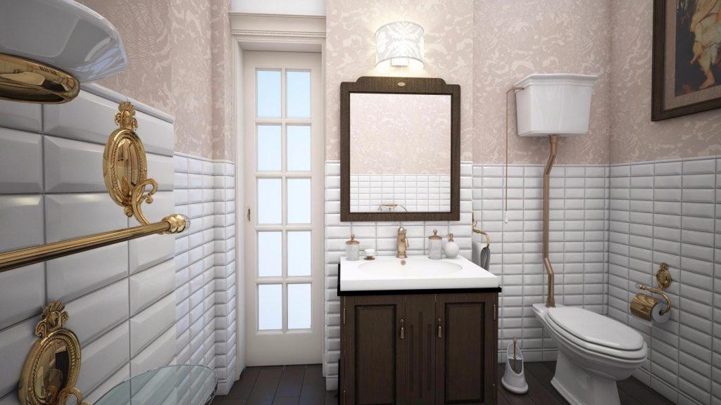 Какими обоями лучше поклеить ванную комнату?  Жидкие, виниловые, моющие, влагостойкие - выбираем самые практичные (115+ Фото)
