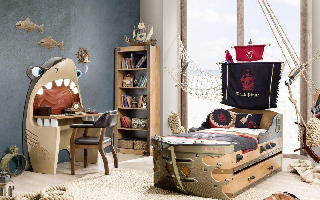 Детская с пиратской тематикой