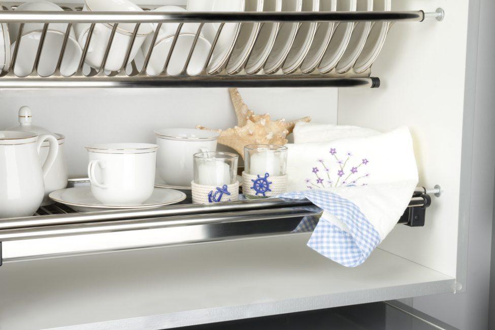 Удобное хранение вашей посуды