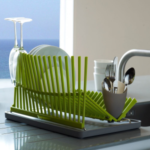 Кухонная сушилка для посуды в шкаф (115+ Фото) - встраиваемая, угловая, из нержавейки. Какую выберите Вы?